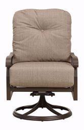 Cortland Swivel Lounge Rocking Chair