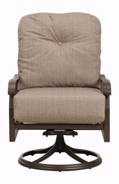 Cortland Swivel Lounge Rocking Chair