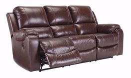 Rackingburg Mahogany Reclining Sofa