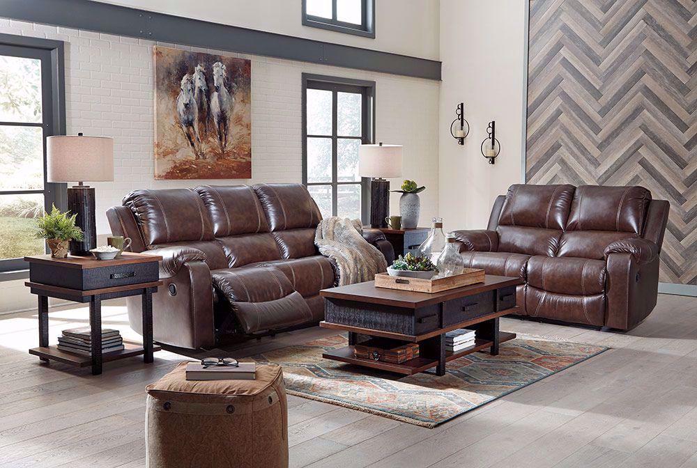 Picture of Rackingburg Mahogany Reclining Sofa