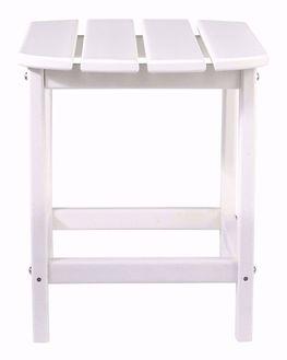 Sundown Treasure White End Table