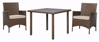 Reedenhurst Sqaure Dining Table Set