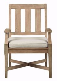 Clare View Cushioned Arm Chair
