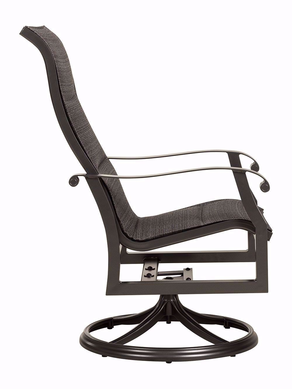 Picture of Cortland Sling Swivel Rocker Arm Chair
