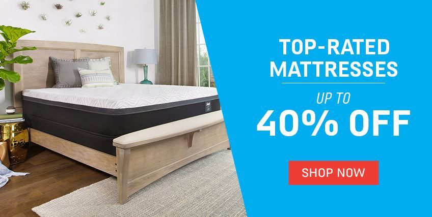 Top-Rated Mattresses Up to 40% off