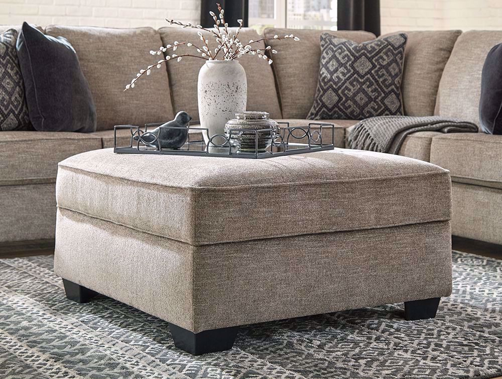Picture of Bovarian Stone Storage Ottoman