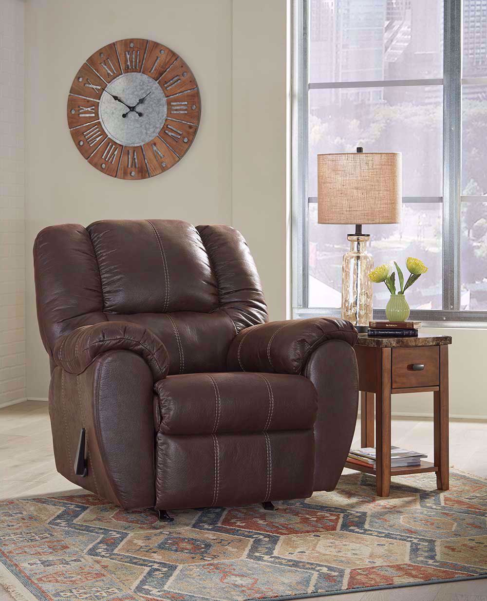 Picture of McGann Walnut Rocker Recliner