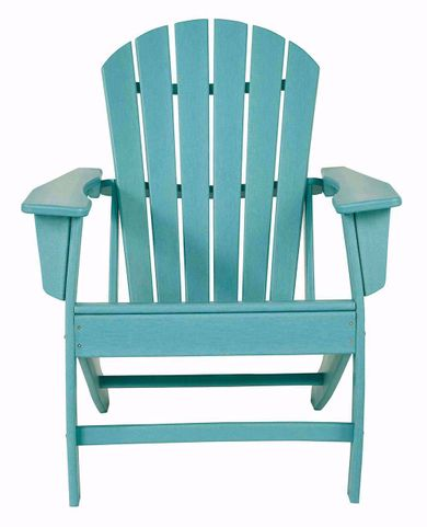 Sundown Treasure Turquoise Adirondack Chair