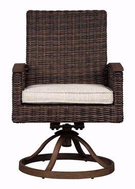 Paradise Trail Cushioned Swivel Chair