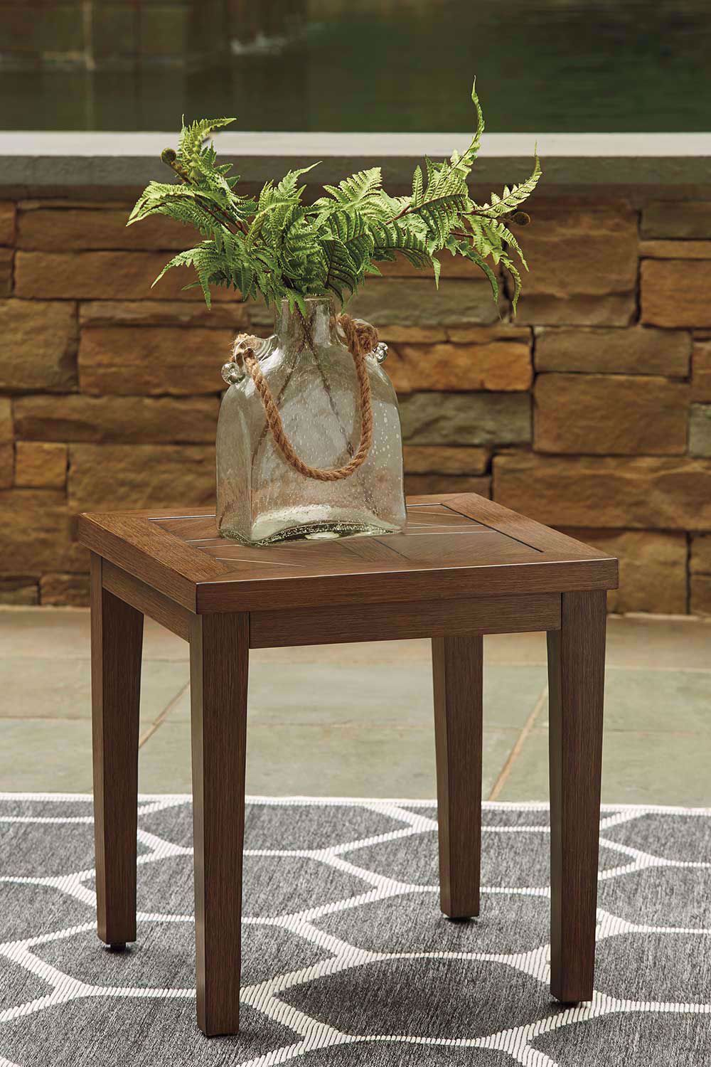 Picture of Paradise Trail Square End Table