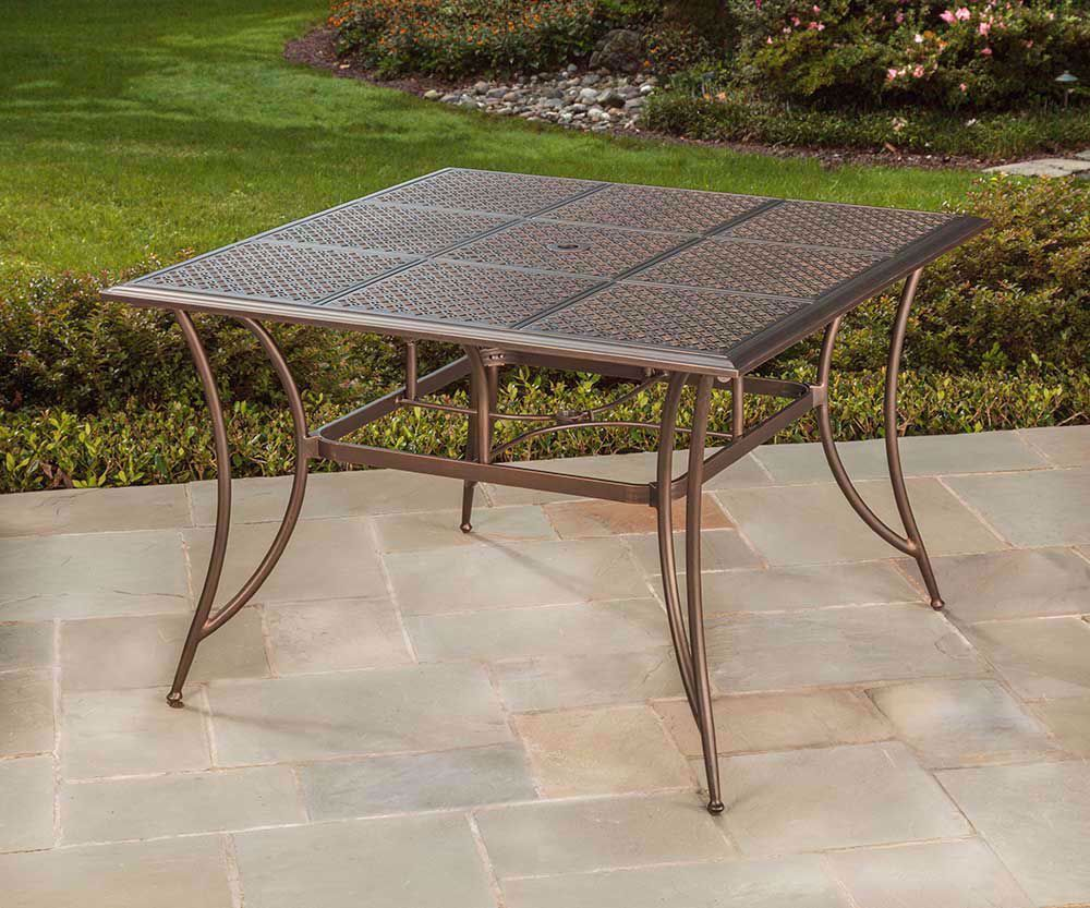 Picture of Manhattan Table with Four Swivel Rockers