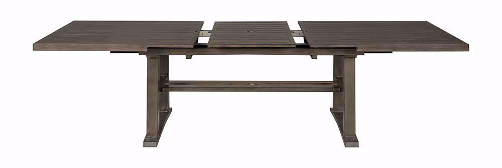 Picture of Davenport Extention Table with Four Swivel Rockers