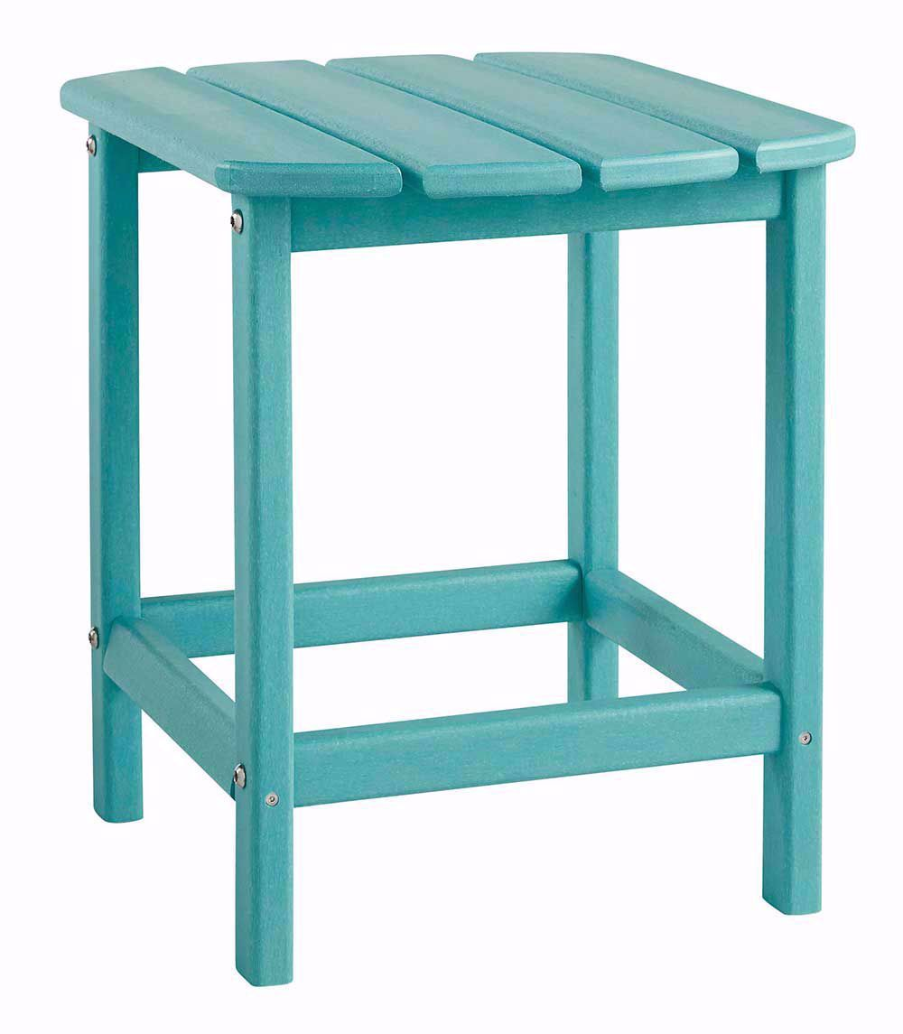 Picture of Sundown Treasure Turquoise Adirondack Chair and End Table