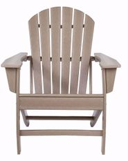 Sundown Treasure Driftwood Adirondack Chair