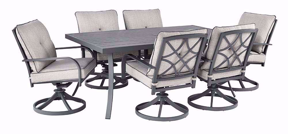 Picture Of Donnalee Bay Dining Table With Six Chairs