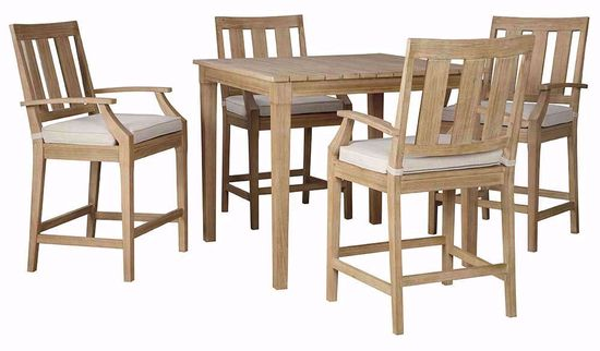 Picture of Clare View Bar Table with Four Stools
