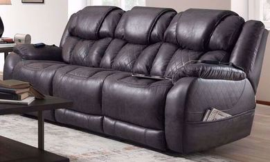 Daytona Steel Power Reclining Sofa