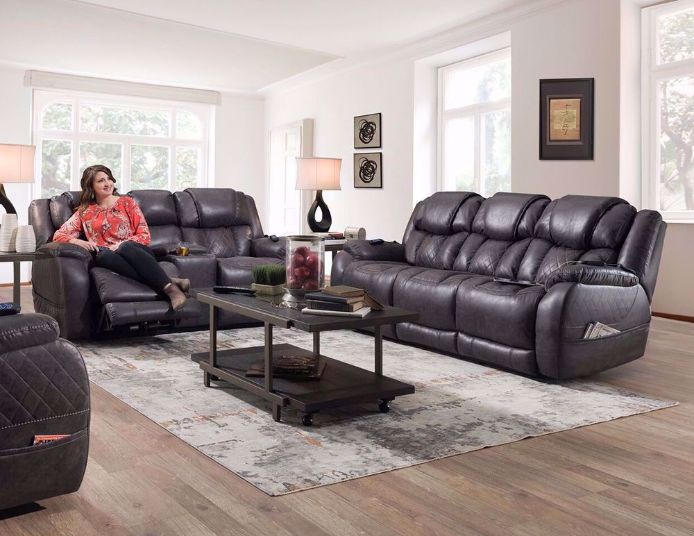 Picture of Daytona Steel Power Reclining Sofa