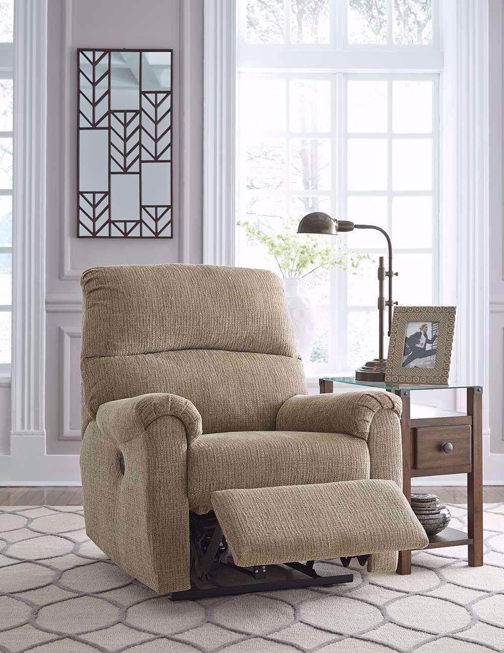 Picture of McTeer Mocha Power Recliner