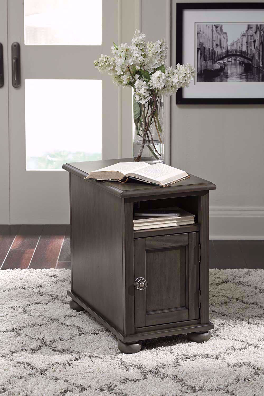 Picture of Devensted Gray Chairside Table