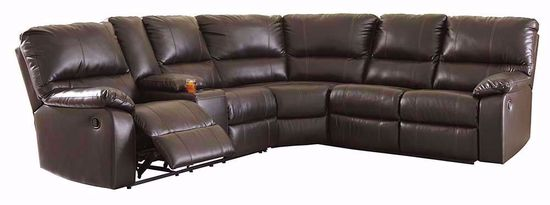 Picture of Warstein Chocolate Three Piece Sectional