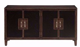 Hyde Park Four Door Media Credenza
