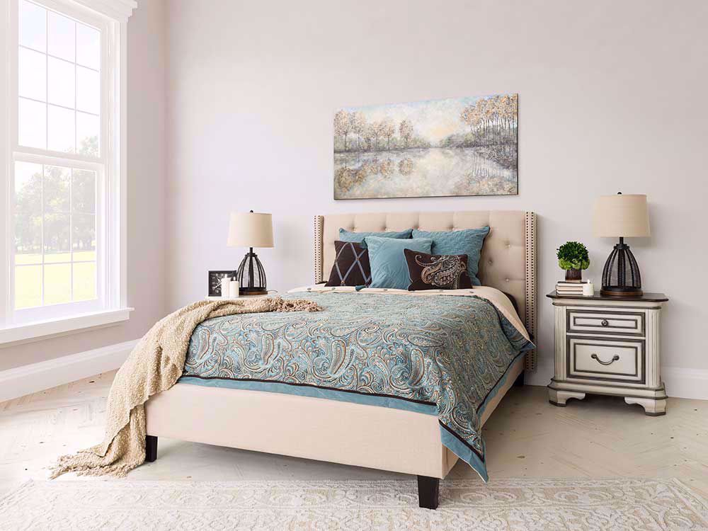 Picture of Restonic Allure Firm King Mattress Set