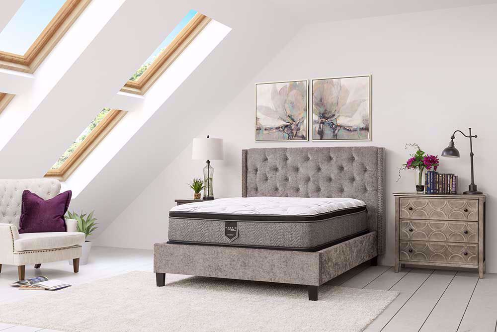 Picture of Restonic Allure EuroTop King Mattress Set
