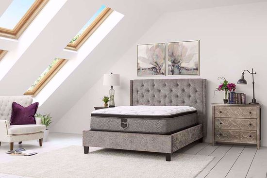 Picture of Restonic Allure EuroTop Twin Mattress Set