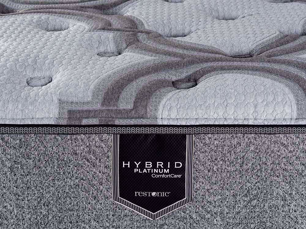 Picture of Restonic Blissful Plush Twin Mattress Set