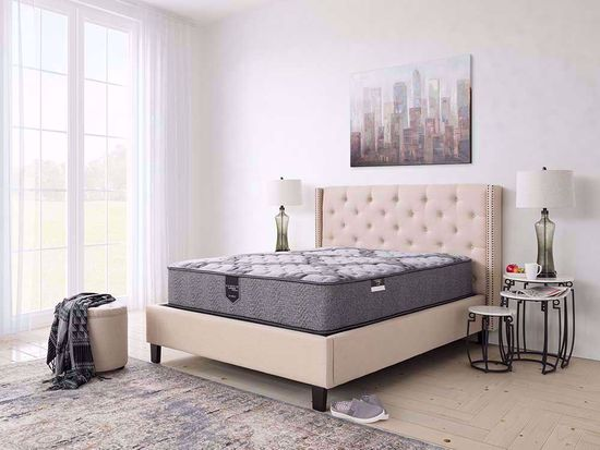 Picture of Restonic Blissful Extra Firm Full Mattress Set