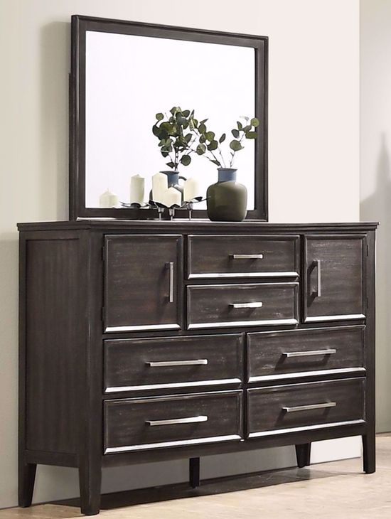 Picture of Andover Nutmeg Dresser and Mirror