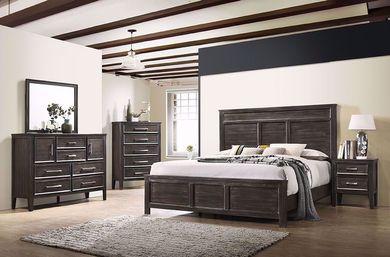 Andover Nutmeg Queen Bedroom Set