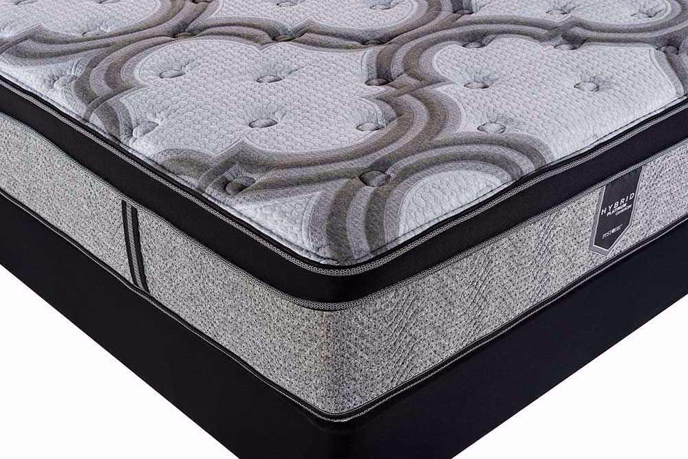 Picture of Restonic Blissful EuroTop Twin Mattress Set