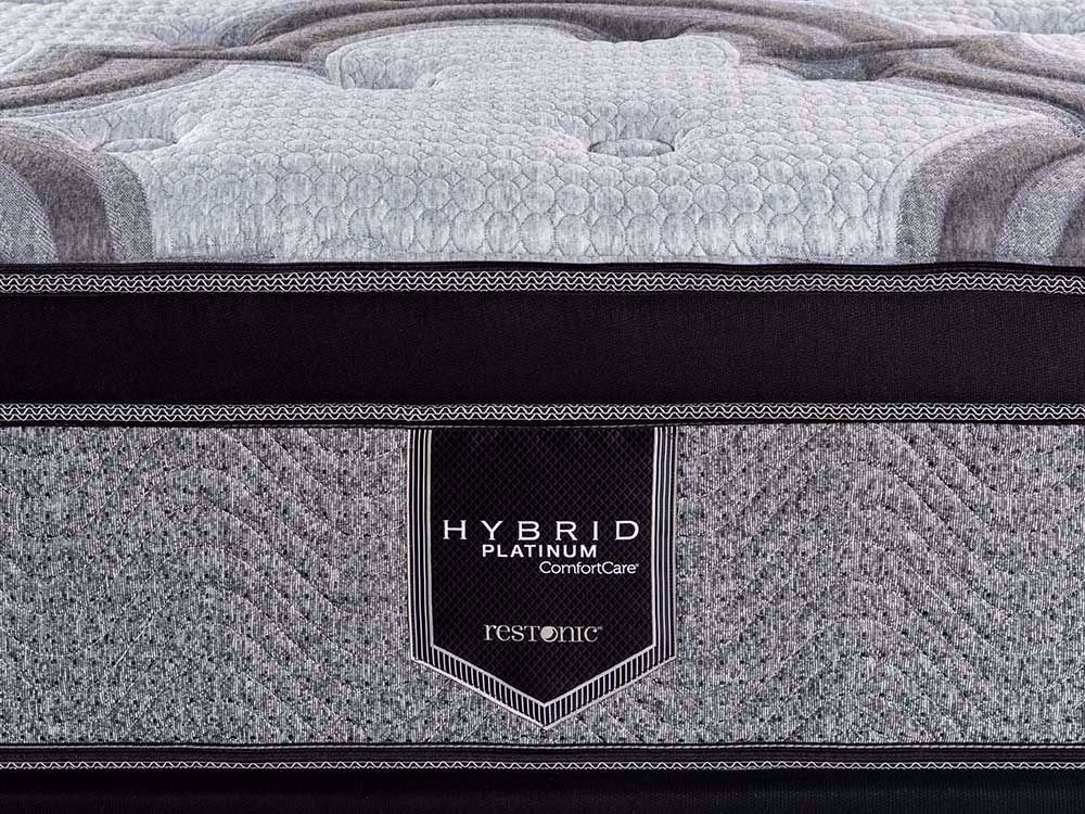 Picture of Restonic Blissful EuroTop Twin XL Mattress Set