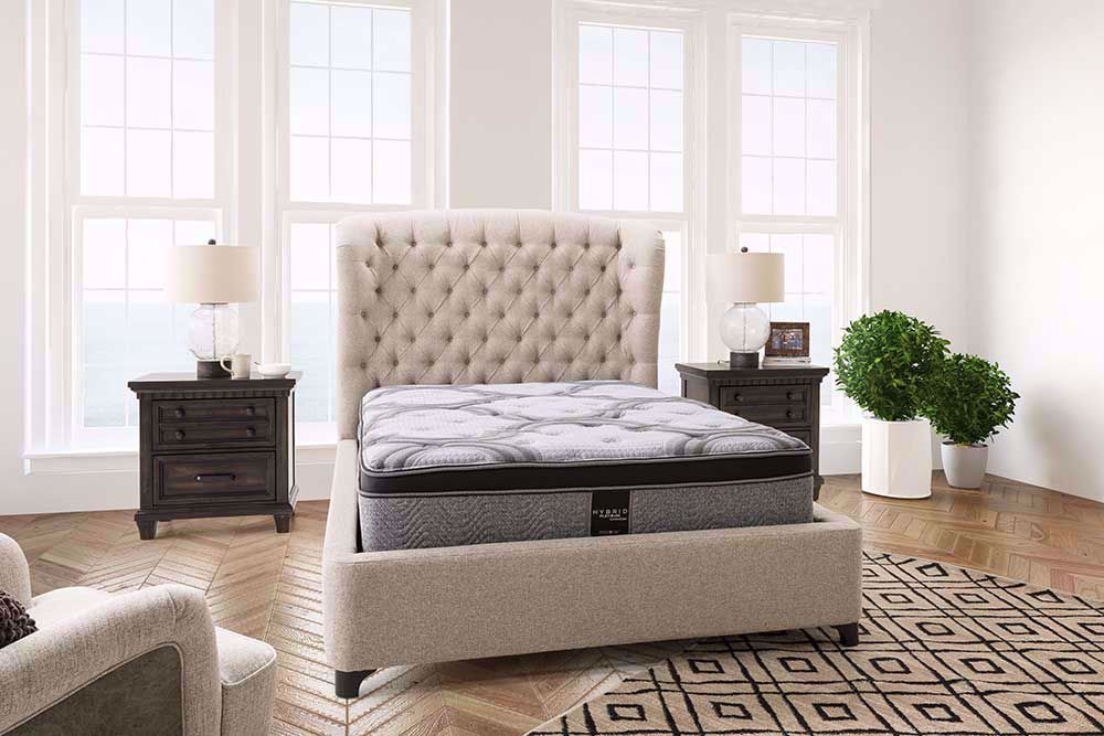 Picture of Restonic Blissful EuroTop Twin XL Mattress Set
