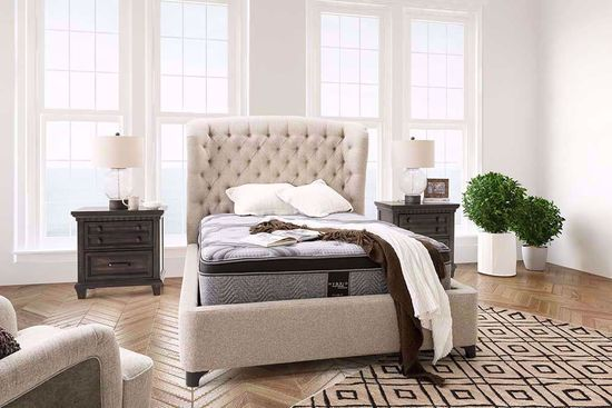 Picture of Restonic Blissful EuroTop Queen Mattress Set