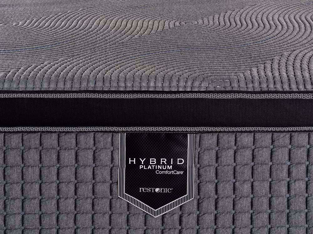 Picture of Restonic Caress Hybrid Full Mattress Set