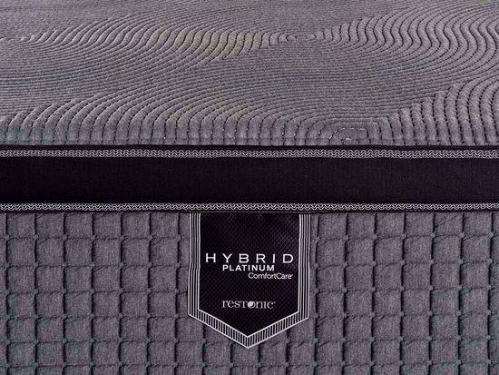 Picture of Restonic Caress Hybrid Full Mattress Set