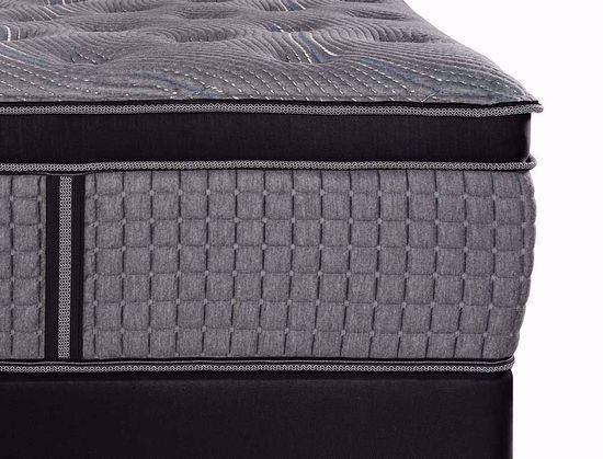 Picture of Restonic Caress Plush EuroTop Twin Mattress Set