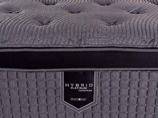 Picture of Restonic Caress Plush EuroTop Queen Mattress Set