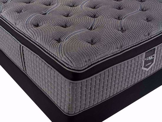 Picture of Restonic Caress Plush EuroTop King Mattress Set