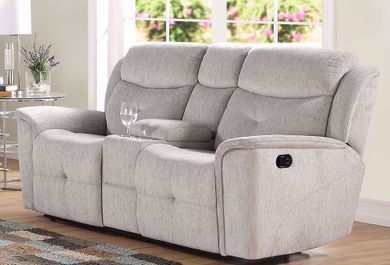Havana Cloud Console Reclining Loveseat