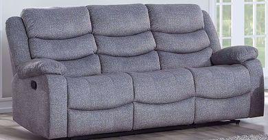 Granada Gray Dual Reclining Sofa