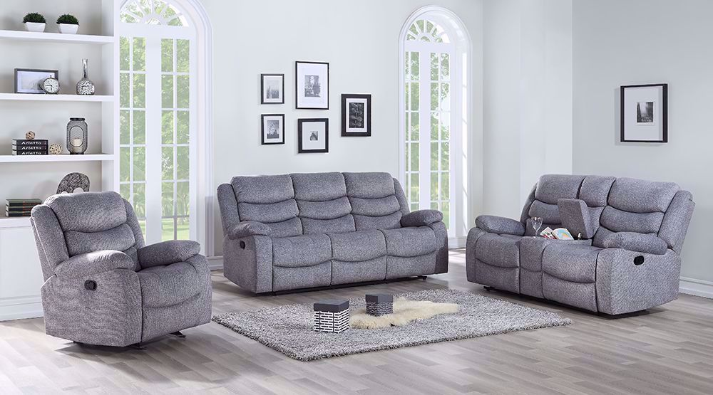 Picture of Granada Gray Dual Reclining Sofa