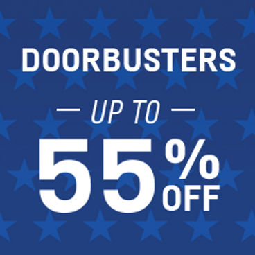 Doorbusters Up to 55% off