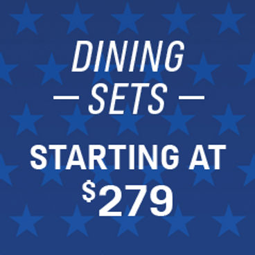 Dining Sets Starting at $279