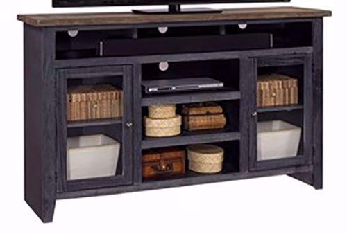 Picture of Eastport Driftwood Black 65 Inch Console