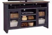 Eastport Driftwood Black 65 Inch Console