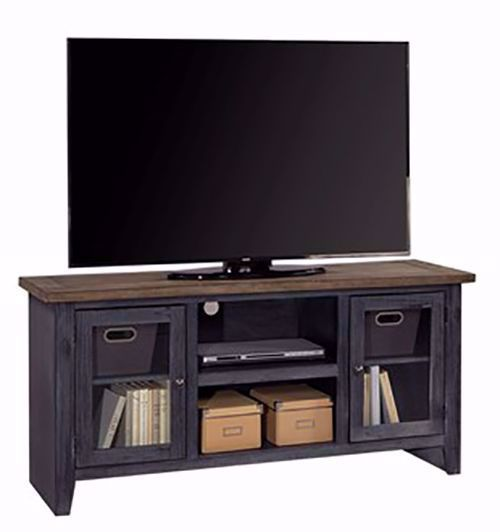 Picture of Eastport Driftwood Black 58 Inch Console